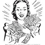 money lady